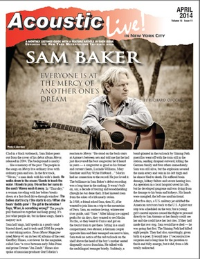 Sam Baker Everyone Is At The Mercy Of Another One S Dream By Richard