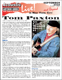 Tom Paxton As Luck And Talent Would Have It By Richard Cuccaro It S Difficult To Imagine A